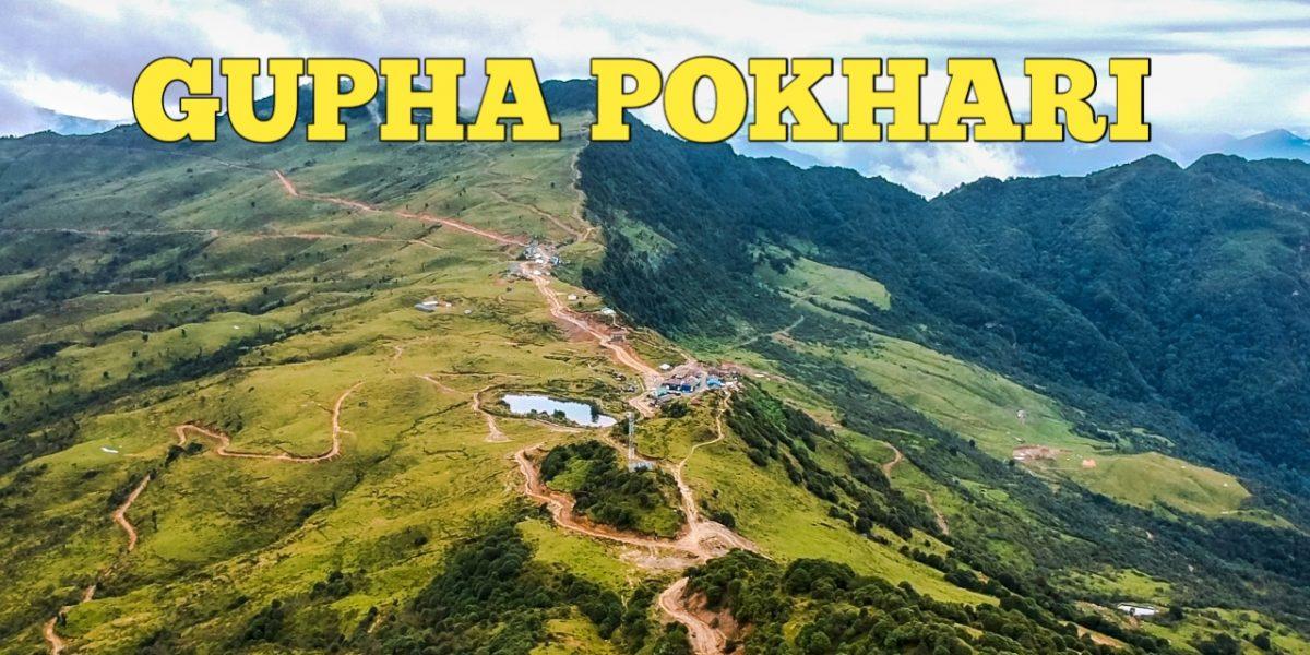 Gupha Pokhari in Drone Photo
